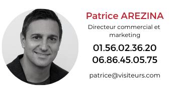 Patrice AREZINA directeur commercial