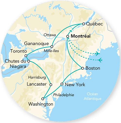 Carte Canada Boston.Visiteurs Un Monde D Attentions
